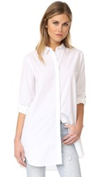 Mih Jeans M.I.H The Oversized Shirt White