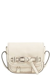 Etienne Aigner 'Filly Stag' Saddle Bag Ivory