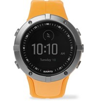 Suunto Spartan Sport Gps Stainless Steel And Silicone Watch Saffron