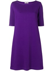 Charlott Short A Line Dress Pink And Purple