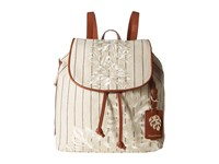 Tommy Bahama Paradise Flower Backpack Natural Stripe Backpack Bags Gray
