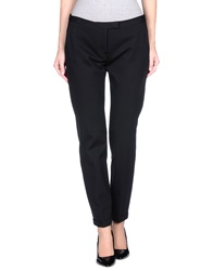 Msgm Casual Pants Black