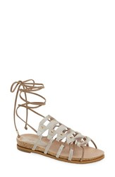 Women's Klub Nico 'Glimmer' Gladiator Sandal Tie Dye Leather