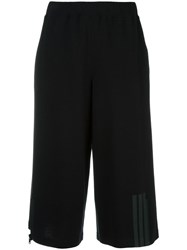 Y 3 Logo Detail Short Trousers Black