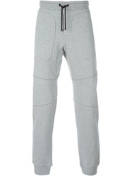 Belstaff Gathered Ankle Track Pants Grey