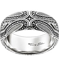 Thomas Sabo Rebel At Heart Maori Sterling Silver Ring