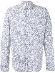 Paul Smith Ps By Allover Monkeys Print Shirt White