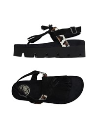 Fornarina Footwear Thong Sandals Women Black