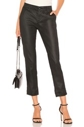 Ag Adriano Goldschmied Caden Leatherette Pant Black