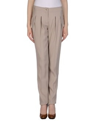 Blugirl Blumarine Dress Pants Dove Grey
