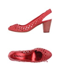Apepazza Pumps Red