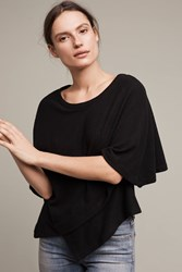 Anthropologie Cozy Dolman Pullover Black
