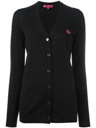 Mcq By Alexander Mcqueen V Neck Cardigan Black