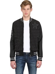 Converse Exclusive Varsity Studded Bomber Jacket
