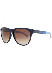 Womens Sunglasses Marc By Marc Jacobs Tonal Blue Wayfarer Sunglasses