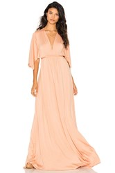 Rachel Pally Caftan Maxi Dress Peach