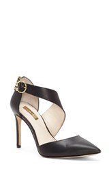 Louise Et Cie Jennox Pump Black Leather