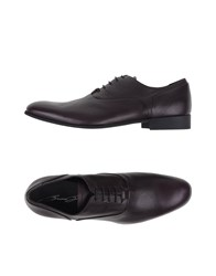 Bruno Bordese Footwear Lace Up Shoes Men Deep Purple