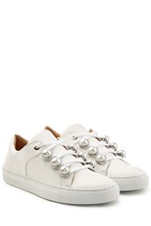 Carven Leather Sneakers