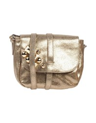 Studio Moda Handbags Gold