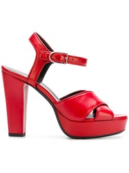 Sonia Rykiel Mme Sandals Red