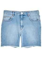 Etoile Isabel Marant Cedar Light Blue Denim Shorts