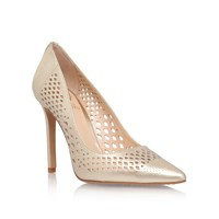 Vince Camuto Nico High Heel Court Shoes Gold