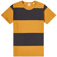 Levi's Vintage Clothing 1960'S Casual Stripe Tee Yellow