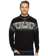 Dale Of Norway Blyfjell F Black Off White Smoke Silver Sweater