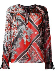 Just Cavalli Paisley Patterned Blouse