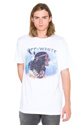 Off White Indian Tee White