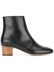 A.P.C. Joey Ankle Boots Black