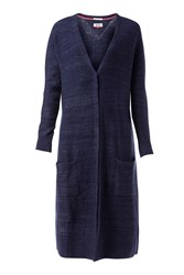 Tommy Hilfiger Long Cardigan Navy