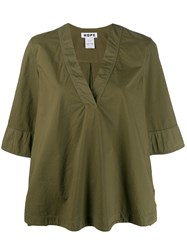 Hope Cotton Blouse Green