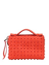 Tod's Micro Bauletto Suede Bag