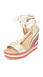 Kate Spade Daisy Too Wedges Gold Multi