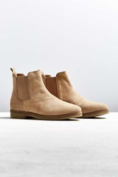 Urban Outfitters Uo Double Crepe Suede Chelsea Boot Tan