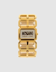 Moschino Cheap And Chic Moschino Cheapandchic Wrist Watches Gold