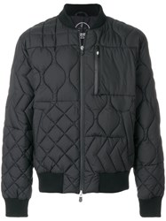 Christopher Raeburn Quilted Bomber Jacket Polyester Xxl Black