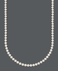 Belle De Mer Pearl Necklace 22' 14K Gold A Cultured Freshwater Pearl Strand 7 1 2 8Mm