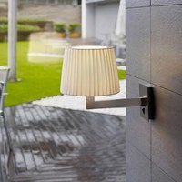 Bover Lexa Fluorescent Wall Sconce With Horizontal Back Plate