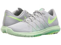 Nike Flex Fury 2 Wolf Grey Ghost Green White Fresh Mint Women's Running Shoes Gray