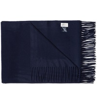 Gant Rugger Large Wrap Scarf Navy
