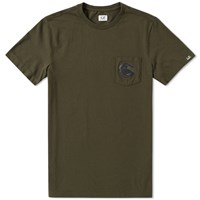 C.P. Company Pocket Lens Tee Green