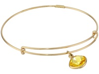 Alex And Ani Precious Sunflower Intellect Charm Bangle Gold Yellow Bracelet