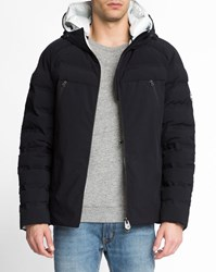 Colmar Lined Zip Up Quilted Down Jacket Black