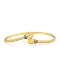 Jude Frances Champagne Citrine Bangle Bracelet