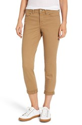 Nydj Women's Alina Convertible Ankle Jeans Sepia