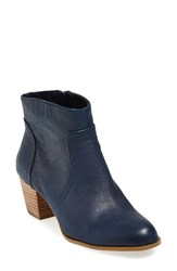Women's Sole Society 'Romy' Bootie Washed Navy