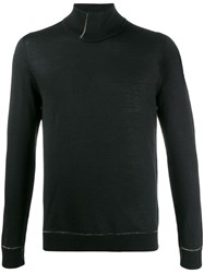 Andrea Ya'aqov Turtleneck Plain Jumper Black